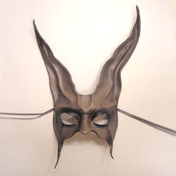Leather Rabbit Mask Asymm... by teonova