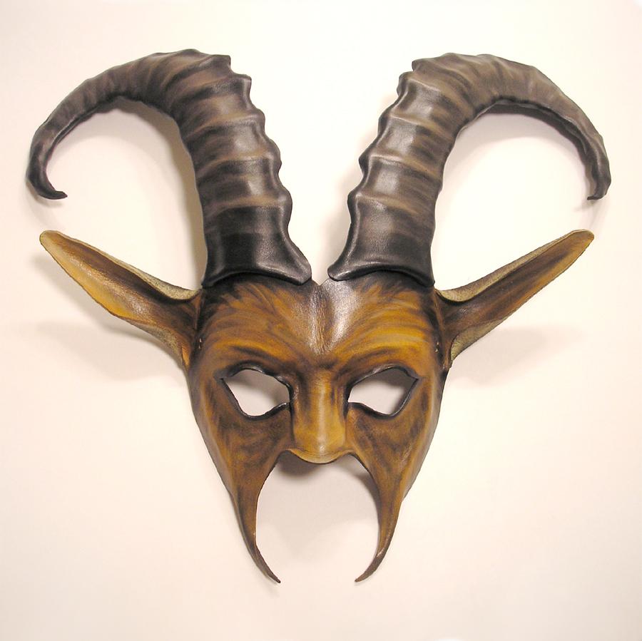 Ibex Goat Leather Mask by teonova