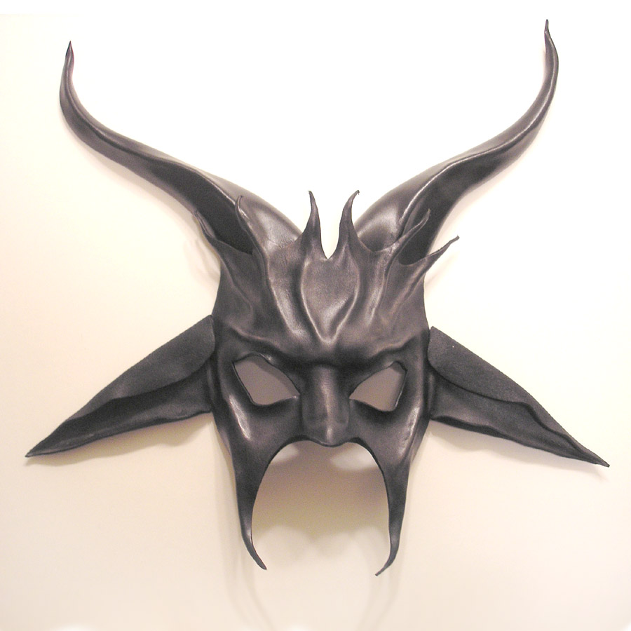 Baphomet Leather Mask ...