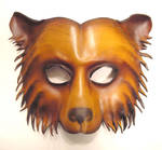 Leather Mask of a Bear