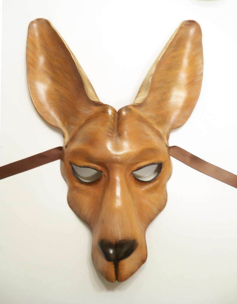 Leather Mask of a Kangaroo by teonova on DeviantArt