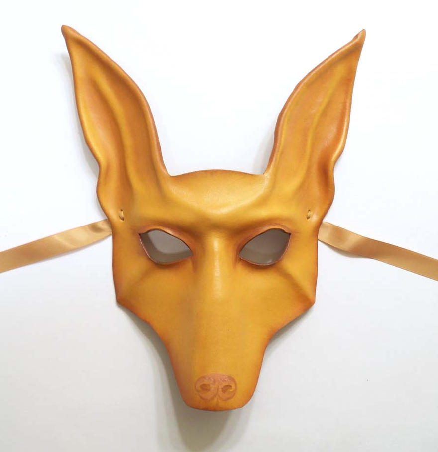 Leather Mask of a Dog Pharaoh Hound Ibizan Jackal by teonova on ...