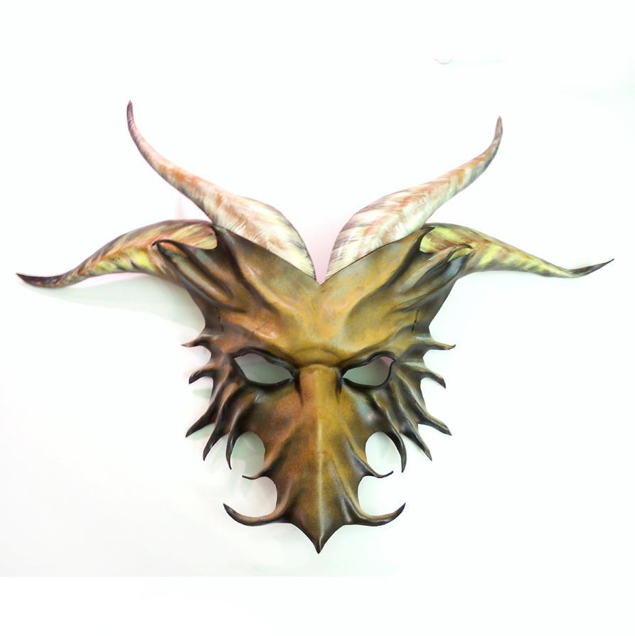 Dragon Leather Mask Boardragon by Teonova by teonova