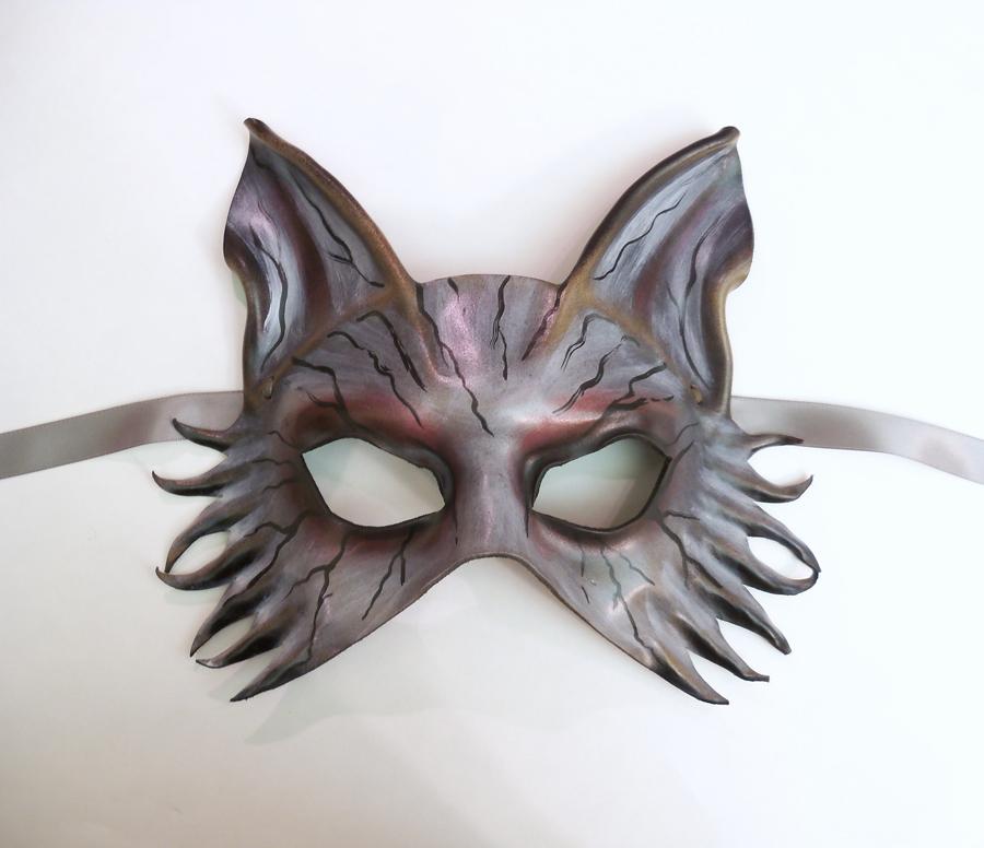 Zombie Animal Leather Mask wolf fox dog by teonova
