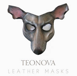 Leather Rat Or Mouse Mask By Teonova