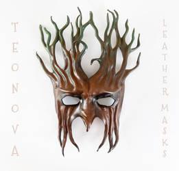 Leather Tree Mask By Teonova