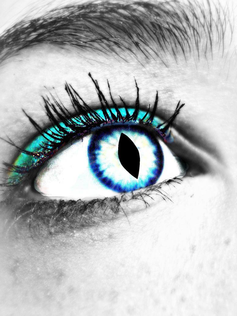 blue dragon eye by colorfuldragon on deviantart