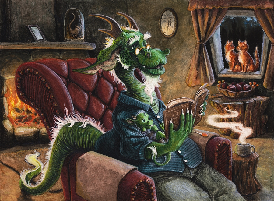 Grandpa dragon