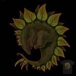 Leafy Stego - T-shirt design by CLCanadyArts