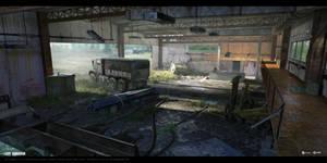Last Survivor - Garage (interior 01) by UnccleUlty