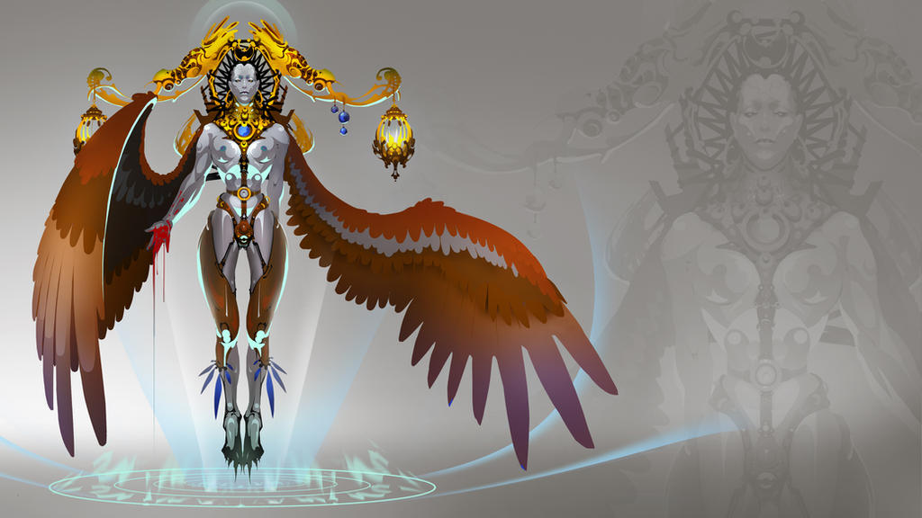 Ancient Civilizations Challenge: Sorceress by UnccleUlty