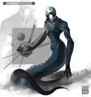 Merman by UnccleUlty