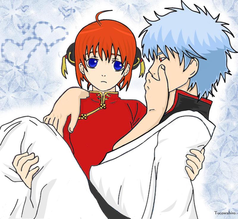 gintoki and kagura relationship memes