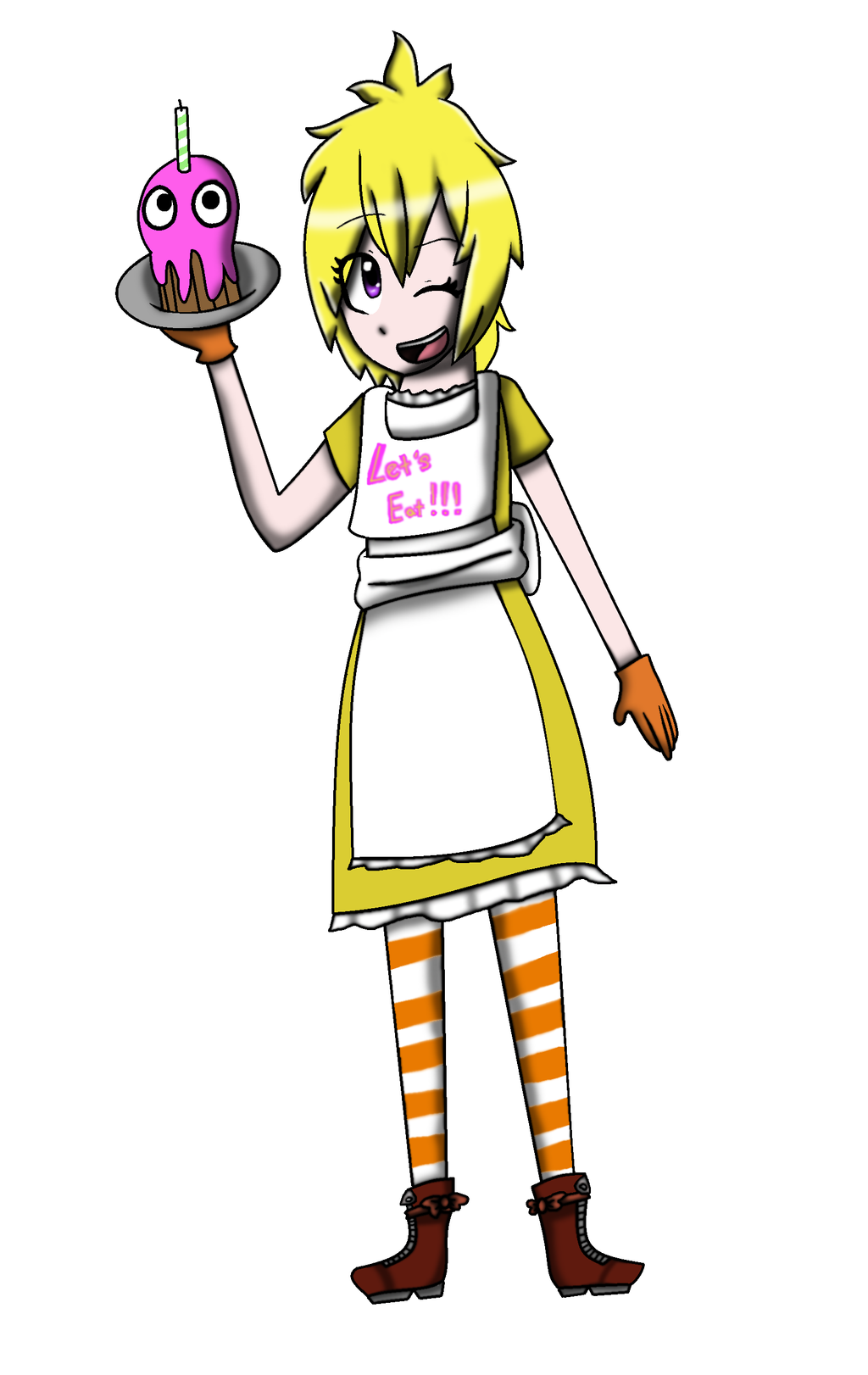 Human chica fnaf unfinished by thesilentmusicbox on deviantart