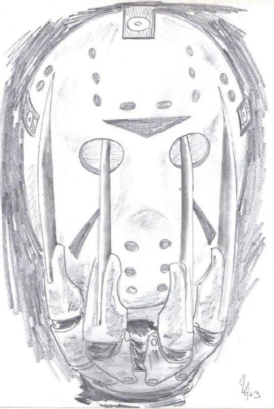 Freddy vs Jason Drawings Freddy vs Jason537 x 799