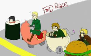 food-race by SYUPON