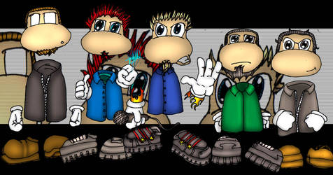 linkin park as rayman...s by harty