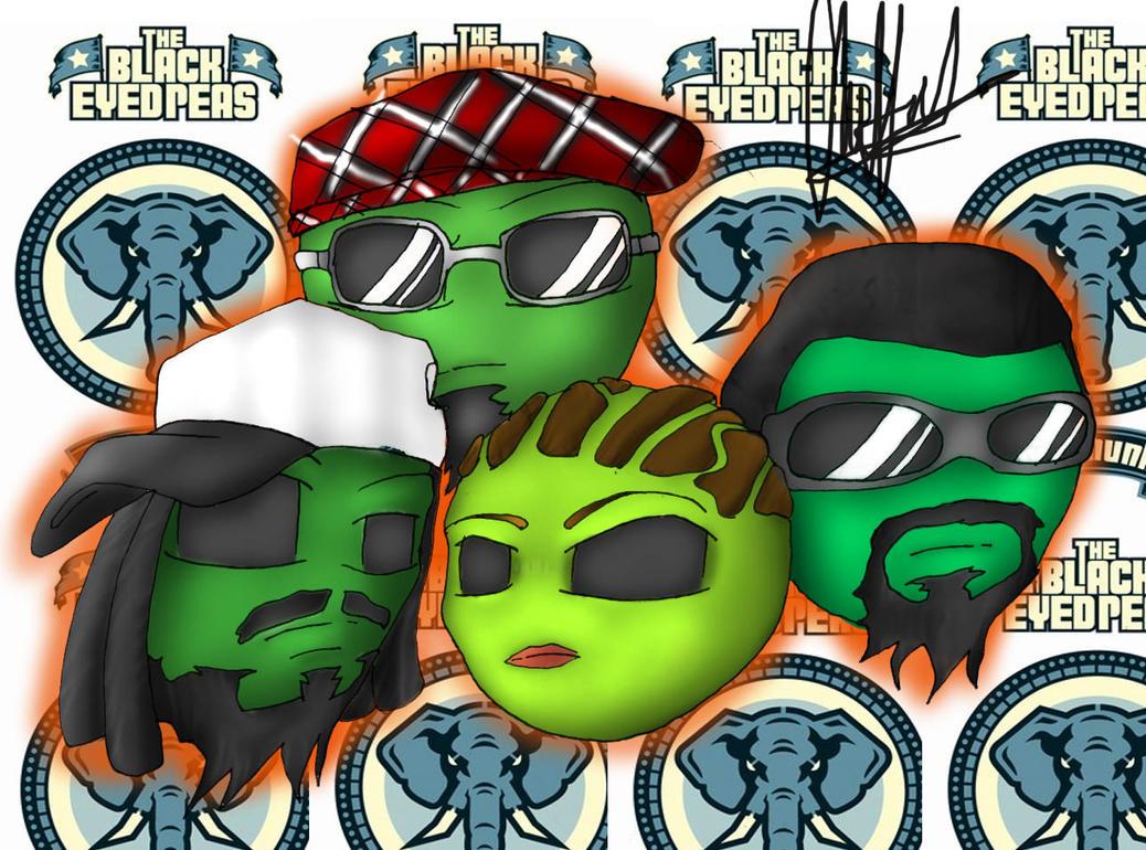 Black Eyed Peas Fanart by harty