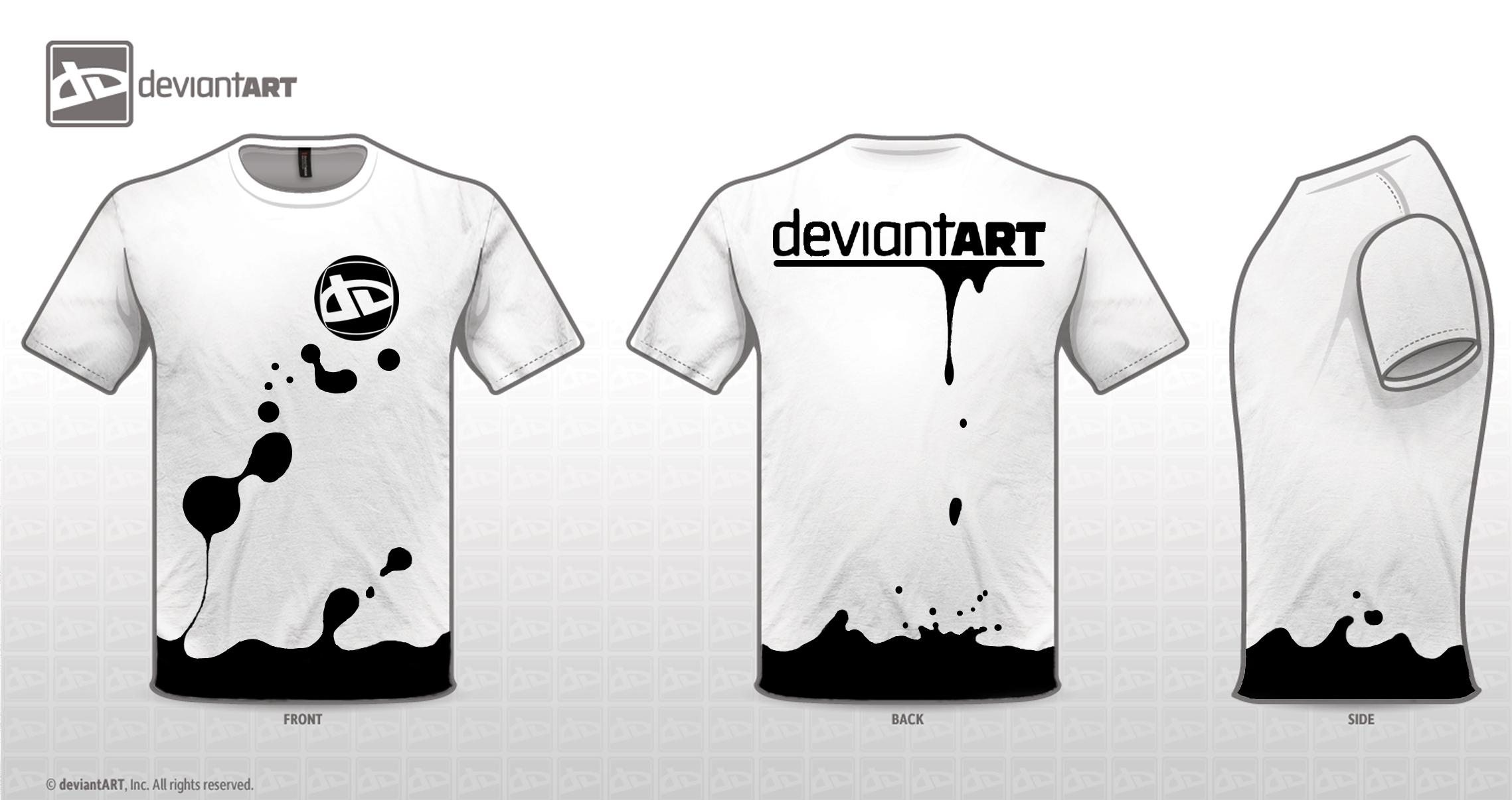 T-shirt design software -  Splash Da T Shirt By Keight8