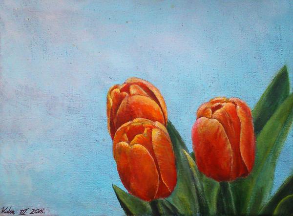 Orange silence by Keight8