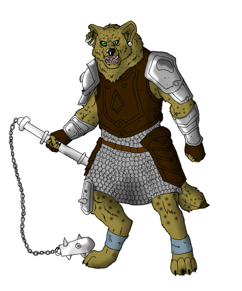 Gnoll Seargent by Jhumperdink