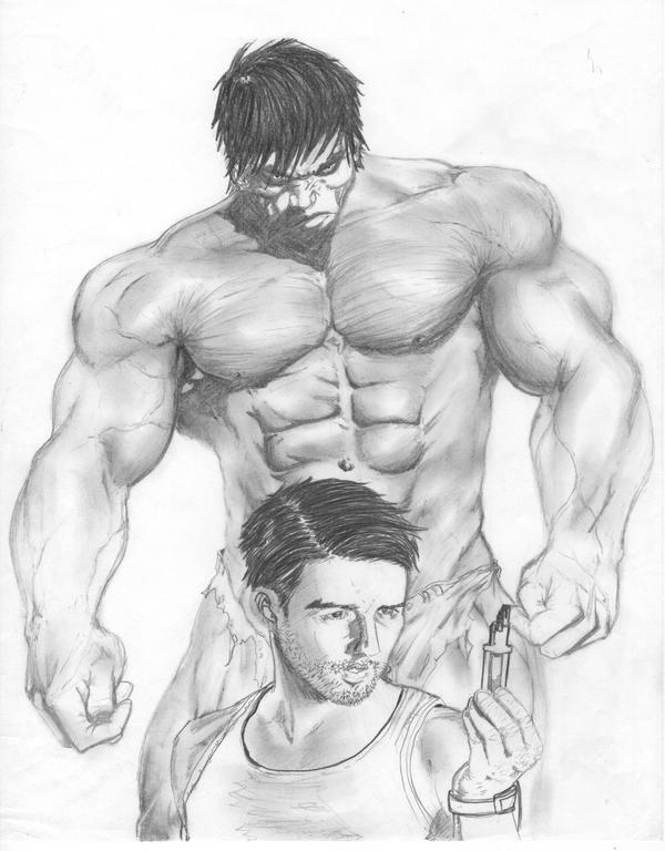 Incredible Hulk by afushyn