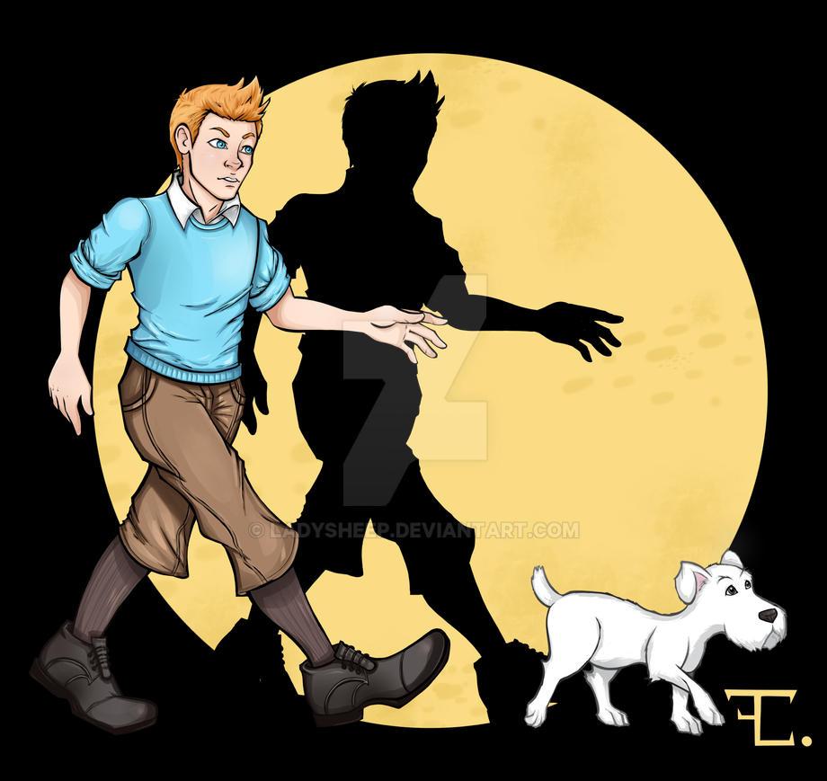 Tintin by ladysheep