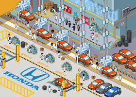 Honda Factory...
