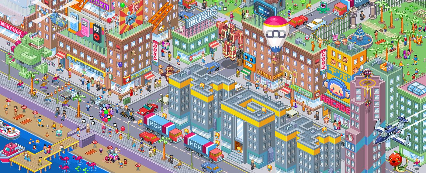 Big Iso City... by gunstar-red
