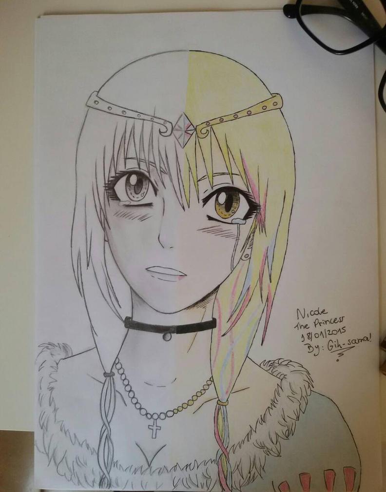 Nicole , The Princess  by Nadugi