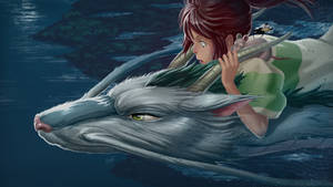Spirited Away Paint Over