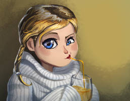 Menina Loira