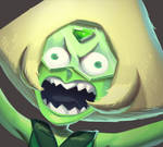 One face a day #6/365.  Mad Peridot (SU)