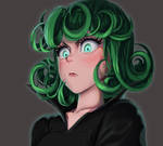 One face a day #15/365.  tatsumaki (one punch man)