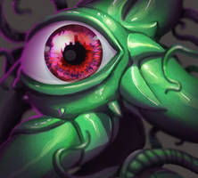 One face a day #29/365. Shuma Gorath by Dylean