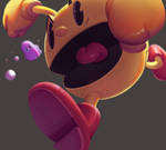 One face a day #72/365. Pac-man