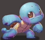 One face a day #76/365. Squirtle (pokemon)