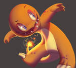 One face a day #78/365. Charmander (pokemon)
