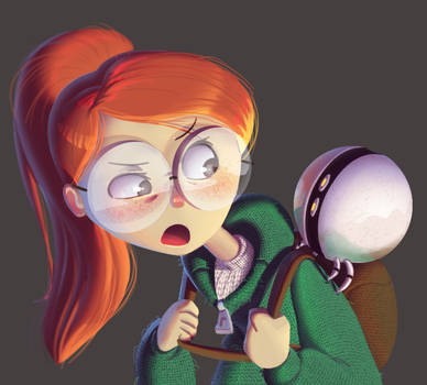 One face a day #79/365. Tulip (Infinity Train)