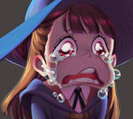 One face a day 155/365 Akko Little witch Academia