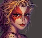One face a day 158/365 Cheetara (Thundercats)
