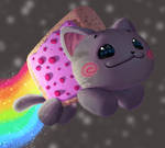 One face a day 178/365. Nyan Cat