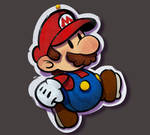 One face a day 191/365. Paper Mario