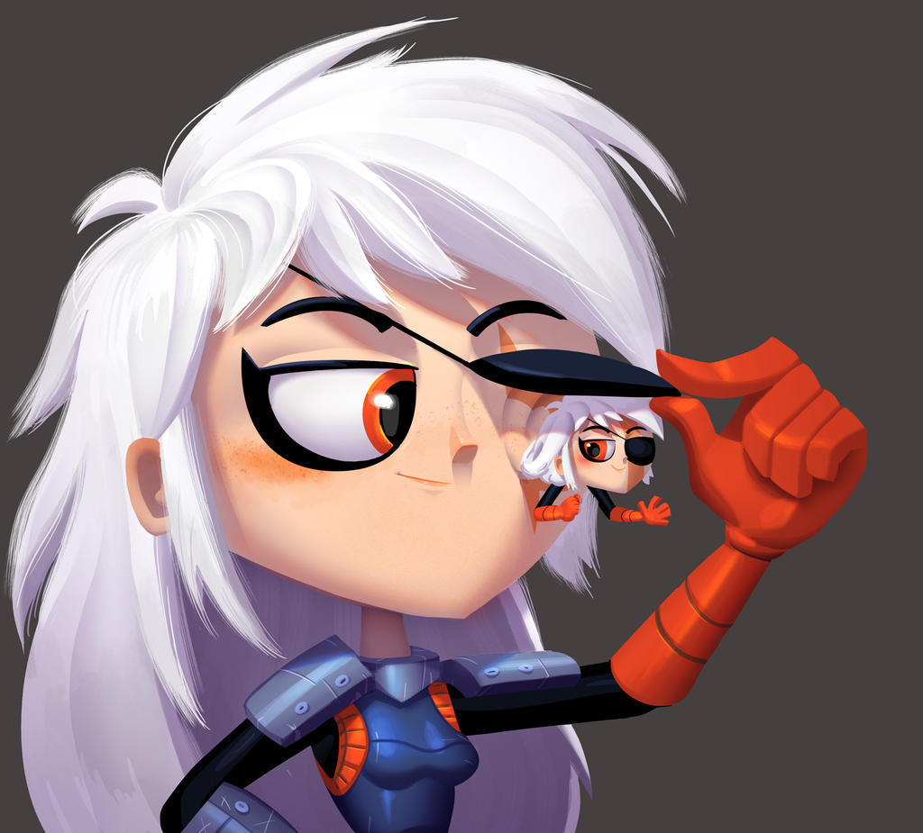 One face a day 207/365.  Rose wilson and RoseBud