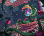 Fake Game Cursed Alphabet. Boss battle. Audrey II