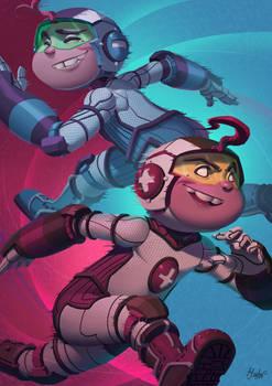 Mas y Menos - Teen Titans