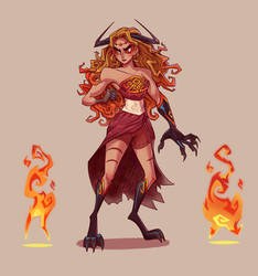 Aurora Ledrick - Original Character