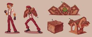 Aluiel windwood - original character