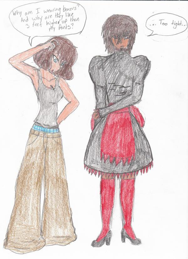 Clothes Swap By ChoppertheNinja On DeviantArt