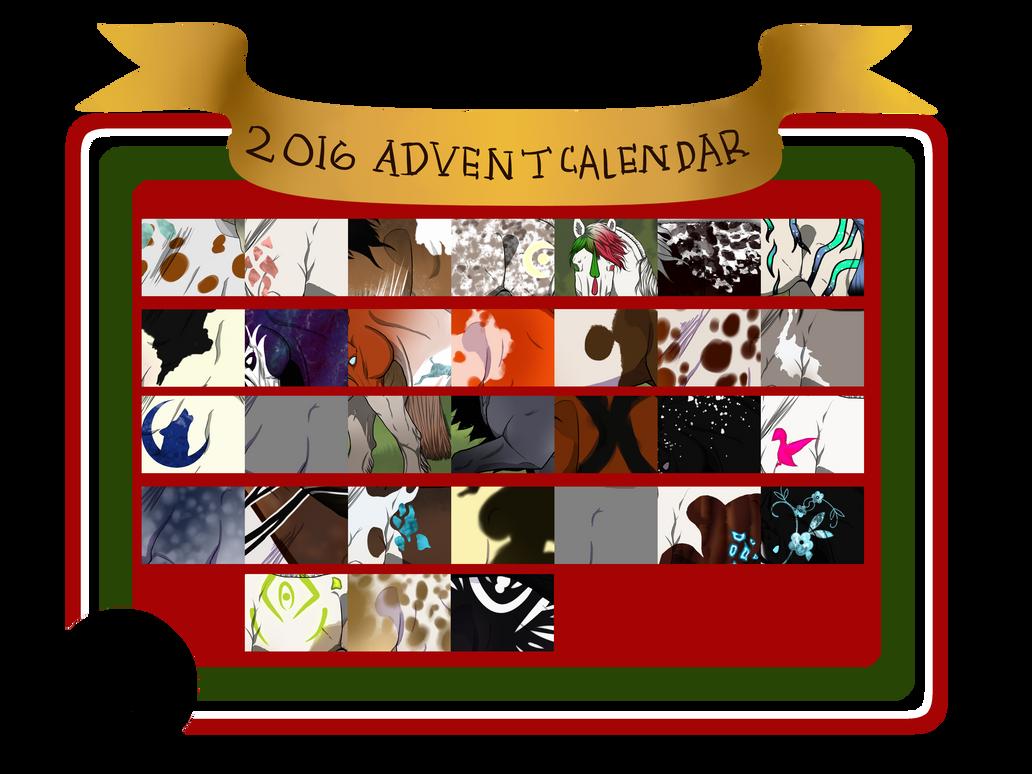 Advent Calendars 2016 : Christmas advent calendar by dastanian admin on